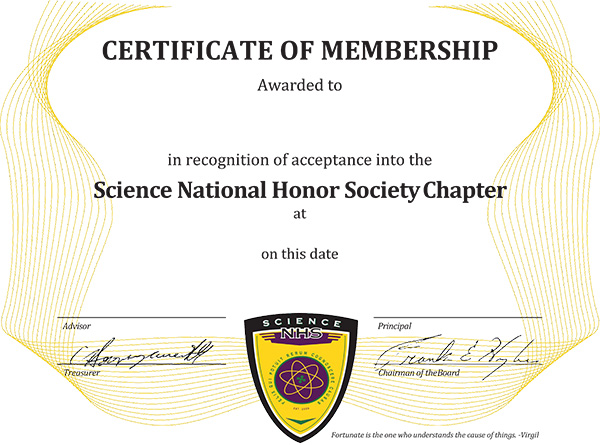 National Honor Society Certificate Template 28 Images Template